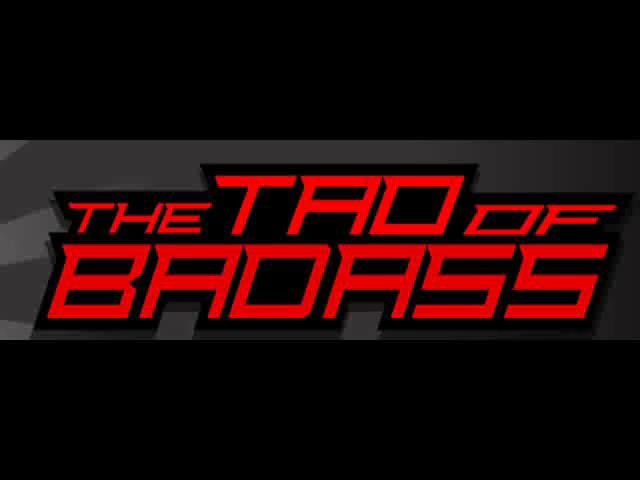 Tao of badass ebook
